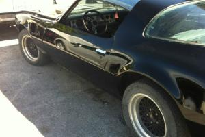 Black 1979 Pontiac Firebird,Trans-Am
