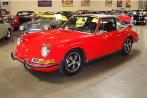 1968 Porsche 911 S Numbers matching excellent history first fixed window targa