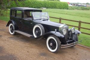 1931 ROLLS ROYCE Phantom II Brewster Town Car LEFT HAND DRIVE Photo