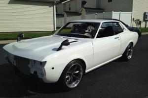 1975 Toyota Celica RA22, Restored Chassis, Full Suspension, Rare, New OEM