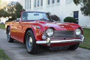 1966 TRIUMPH TR4 A, Restored. Photo