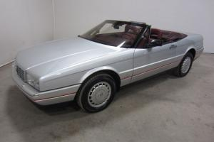 1987 CADILLAC ALLANTE CONVERTIBLE 4.1L V8 FWD LEATHER HARD TOP LOW MILES 80PICS Photo