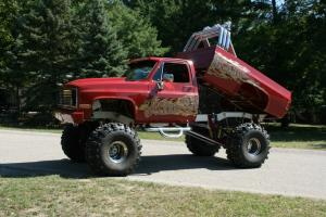 1985 chevy 4x4, lifted, monster truck, show truck