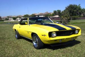 1969 Camaro Z-28 Restored Yellow with enduro bumper
