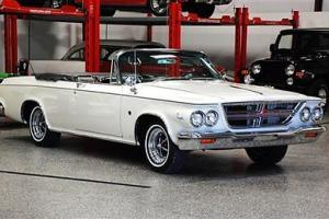1964 CHRYSLER 300 K CONVERTIBLE 1 OF 620 PRODUCED ! RESTORED VERY RARE 413 C.I.