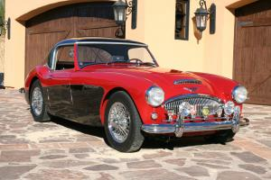 Stunning 1962 Austin Healey 3000 MKII BT7 Has factory Hardtop!