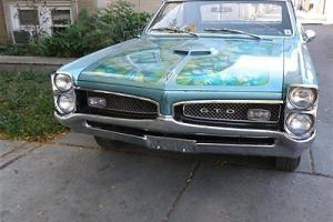 1967 Pontiac GTO, Restored:,Matching Number,Barn Find!! Build Sheet! LowReserve!