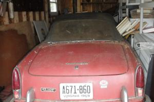 Barn Find 1959 Fiat 1200 Spyder & 1962 Fiat Wagon MUST SELL