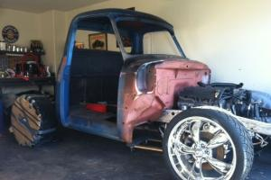 1955 Ford F100 Hotrod Project