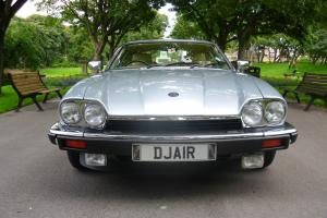 A Beautiful Classic Silver Jaguar XJS V12 5.3 Coupe (Reduced in price)