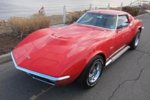 1970 CORVETTE 350/350 H.P. 4 SPEED NUMBERS MATCHING