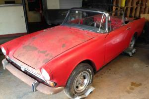 SUNBEAM TIGER  MATCHING #'S NEEDS RESTORATION NO RESERVE