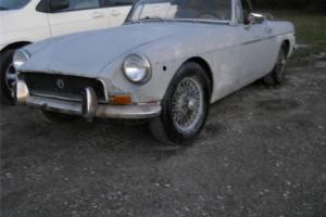 1971 MGB Roadster EZ Winter Restoration Photo