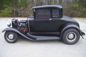 1931 Ford Model A Coupe Built 283 5 Speed Manuel Trans 4 Wheel Disc Brakes NICE