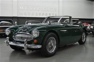 TWO OWNER WELL SORTED BRITISH RACING GREEN AUSTIN HEALEY 3000 BJ8