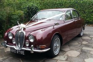 JAGUAR S Type 3.8 Opalescent Maroon registered 1967 (built 1965)