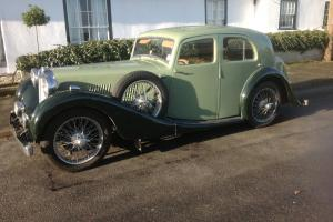 MG VA 1937, 4 door saloon. From a golden age and with a tear in my eye........