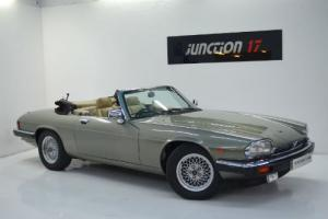 Jaguar XJS 5.3 V12 CONVERTIBLE AUTO F Reg, Full Leather, Electric Roof