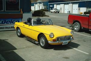 1966 MGB V-6 Conversions with Custom AC/Cooling system Photo