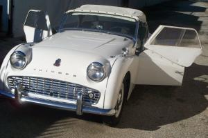 1959 Triumph TR3 Convertible Photo