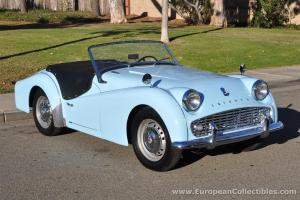 1962 Triumph TR3 A Roadster Photo
