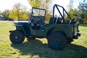 1947 CJ-2A Jeep (WWII Military) Frame Off Restoration