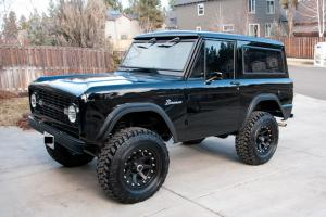 1966 Ford Bronco Frame Off Restoration!