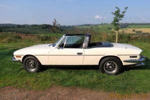 Triumph Stag, 1974, Manual