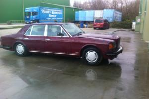1984 BENTLEY RED - spares or repair - barn find Photo