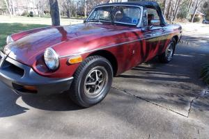 1975 MG MGB Convertible, Listing revised with new pictures!