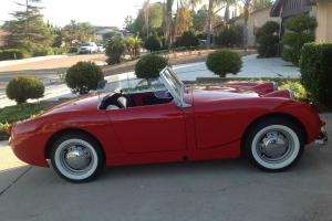 1959 CHERRY RED BUGEYE SPRITE--High Quality Restoration--