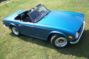 1972 Triumph TR6 ,71k original miles Photo