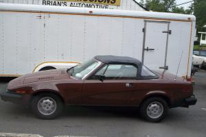 1980 TRIUMPH TR 7 CONVERT FUN CAR RUN'S GREAT!!!! Photo
