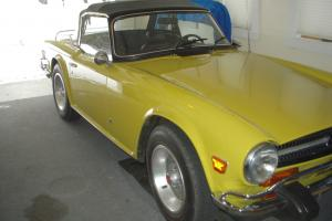 Triumph TR 6 Manual Convertible 2.5L - 1974