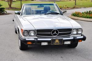 Simply beautiful 1985 Mercedes 380 SL Convertible low miles stunning NO RESERVE