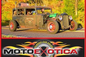 1931 BUICK RAT ROD-PIRATE THEME-V8-HUDSON HEADLAMPS-WIRE WHEELS-AUTO TRANS