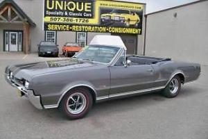 1967 Olds 442 Convertible Matching Numbers!