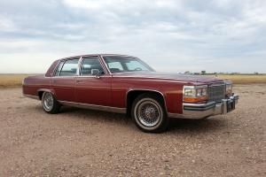 1986 Cadillac Fleetwood Brougham, 22K, One owner! Out Of Heated Garage! Gold Pkg