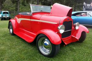 Roadster, Hot Rod, Convertible, Red
