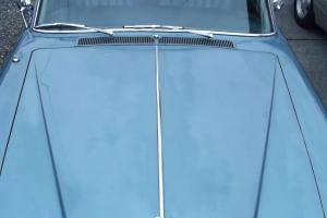1972 Rolls Royce Silver Shadow, Caribbean Blue on Navy Leather