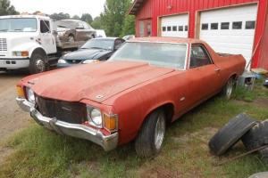 1972 CHEVROLET EL CAMINO ORIGINAL MATCHING NUMBERS 402 AUTOMATIC