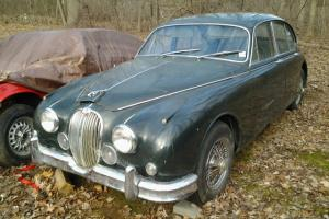 1961 JAGUAR MK2 MARK 2 II OD FACTORY MANUAL TRANSMISSION  ORIGINAL CAR