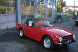 1975 Triumph TR6, Excellent condition