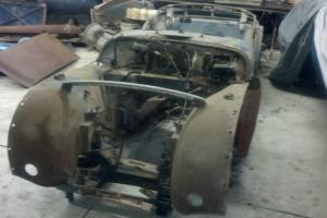 1957 TRIUMPH TR3 needs total restoration many extra parts frame and body solid