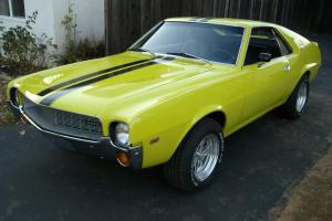 1968 AMX V8 4-Speed Californa rust free NO Reserve