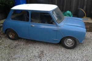 GENUINE 1964 1965 AUSTIN MINI COOPER COMPLETE PROJECT OFFERS PX £ EITHER WAY