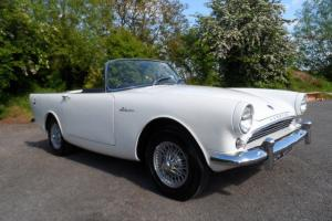 1962 SUNBEAM ALPINE SRS2 HIGH WING 1592cc THE BEST AVAILABLE ! BEAUTIFUL COND