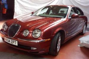 JAGUAR S-TYPE 2.5 V6 SE 4D AUTO 210 BHP 2 OWN HISTORY.  Photo