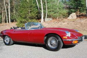 1973 Jaguar E-Type. (XK-E) Near-mint, Completely Restored and no Problems!