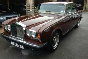 1980 V ROLLS ROYCE Silver Shadow II 4dr Auto 6.8 Photo